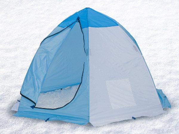 типы палаток для зимней рыбалки